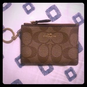 New-ish COACH Wristlet Wallet